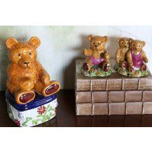 Set of 3 Bear Figurines