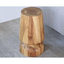 Slender Natural Conacaste Wood Stool