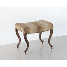 Antelope Khaki Ottoman/Stool