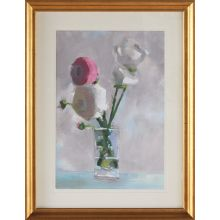 Bouquet With Pink 1  27.25W X 35.25H