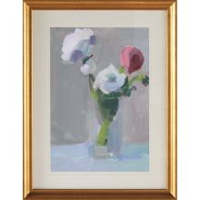 Bouquet With Pink 2  27.25W X 35.25H