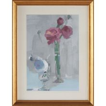 Bouquet With Pink 3  27.25W X 35.25H