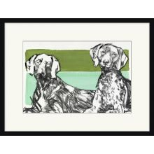 Buster and Barclay 25.5W x 19.5H