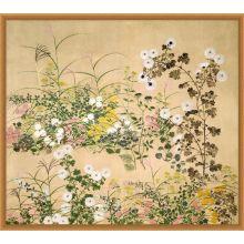 Vintage Floral Screen 42W x 37H