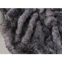 Charcoal Fur Throw
