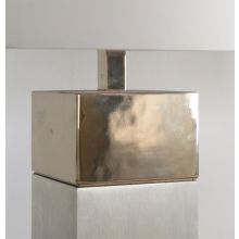 Vintage Silver Table Lamp