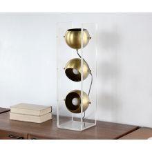 Acrylic Column Table Lamp