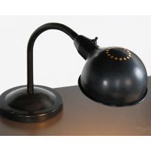 Black Gooseneck Steel Lamp