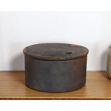 Large Hazel Storage Jar