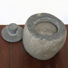Riverstone Lidded Jar