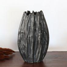 Moment Rough Washed Aluminum Vase