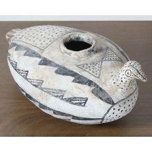 Ceramic Vase Quail Design