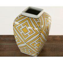 Ceramic Yellow Jar