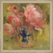 Pink Floral Arrangement 1  33.75W X 33.75H
