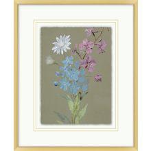 Muted Florals 4  13.82W X 16.82H