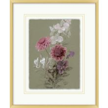 Muted Florals 5  13.82W X 16.82H